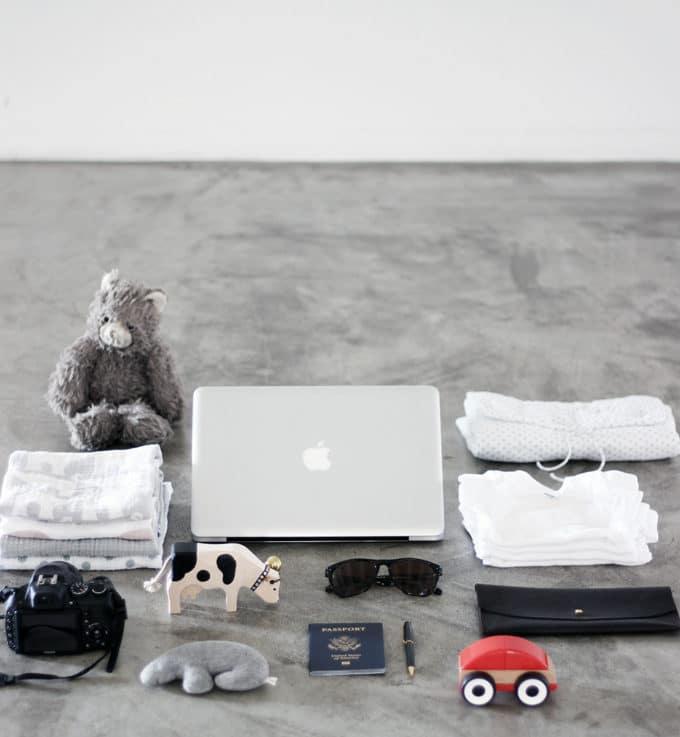 赤ちゃん/子供連れの海外旅行や飛行機旅行の持ち物