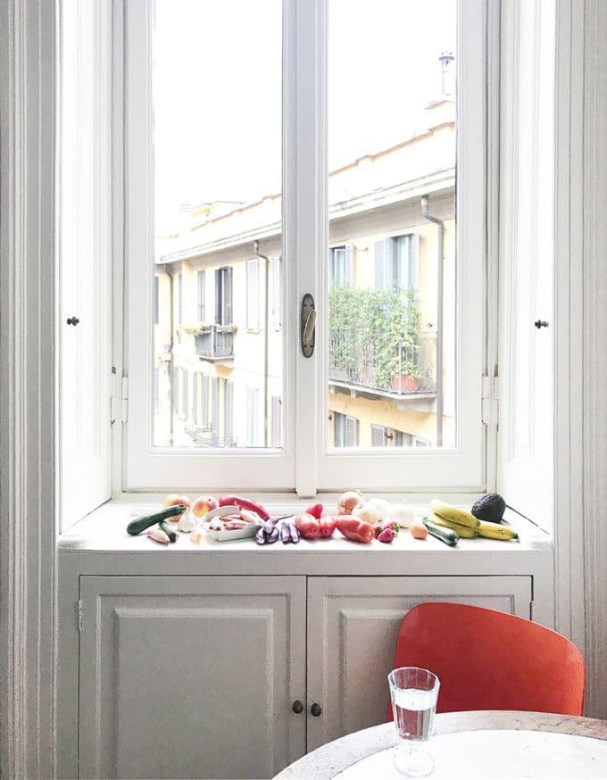 ミラノのAirbnbアパート