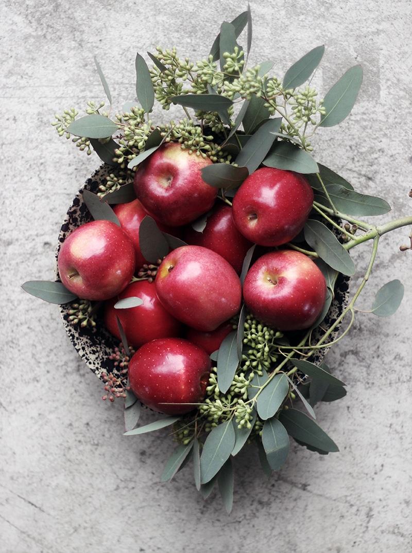 りんごと塩キャラメルのガレット