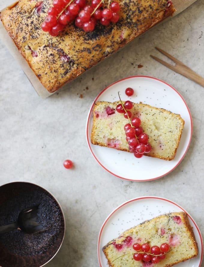 レッドカラントのケーキ