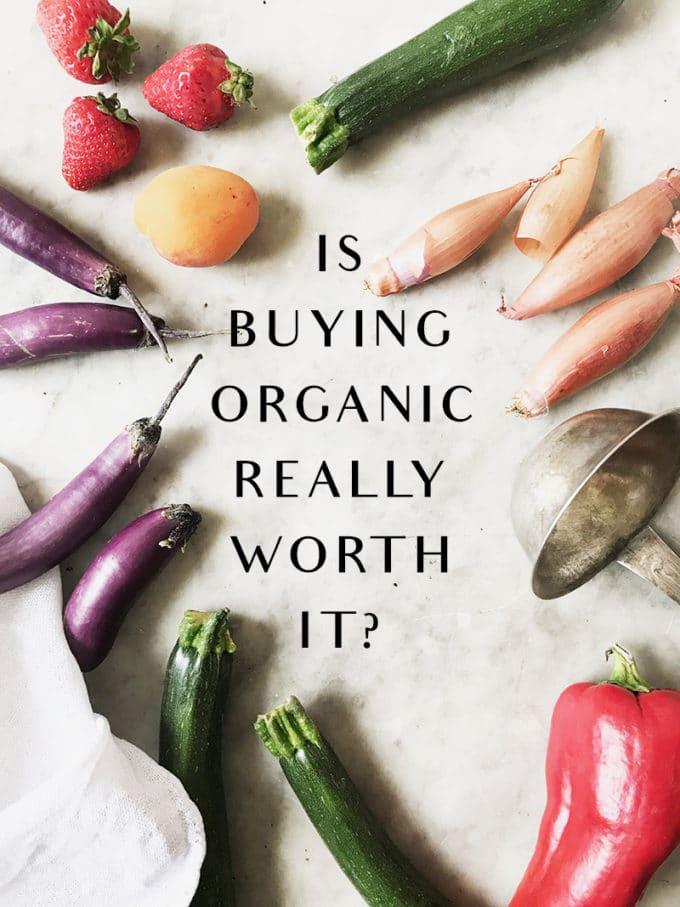 本当にオーガニック食材を買うべきかどうか