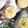 野菜の3色スープ