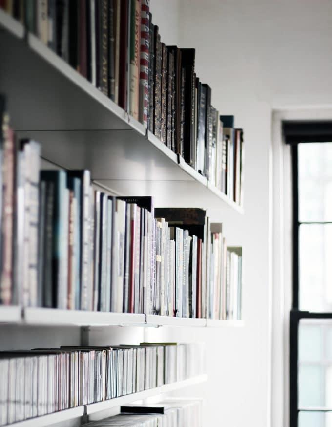 本をおしゃれに見せる収納