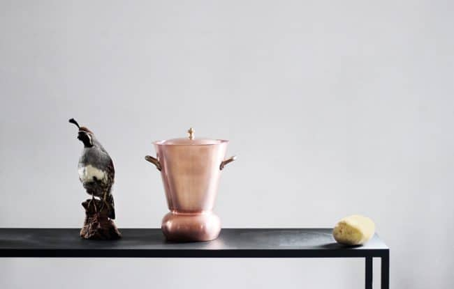 カッパー(銅)のポテトスチーマー